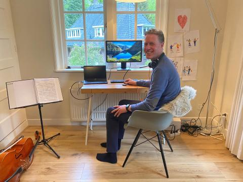 Robbert Booij home office